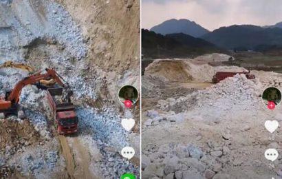 石膏公司被指无证开采造成当地水土严重流失