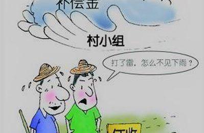 村民诉称218亩多土地的征地补偿款去向不明
