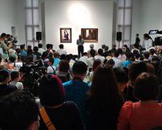 艺术之路——绘画作品展暨大家绘乐儿童作品展在中国艺术研究院油画院举行
