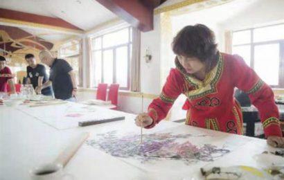 只研朱墨作春山 ——记江南才女、当代著名重彩女画家叶君萍