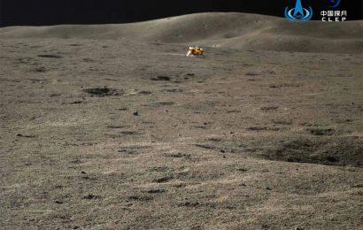 """嫦娥四号和""""玉兔二号""""结束休眠 已在月背待了500天"""