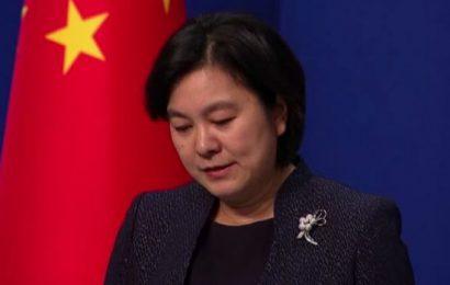 """华春莹斥美政客试图将其他国家绑上""""反共反华""""战车"""