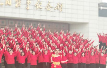 音乐电视《中华颂》在中国人民抗日战争纪念馆唱响
