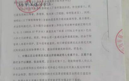 四川成都:胆肥小贷公司涉黑涉伞被实名举报